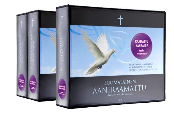 Raamattu Kansalle, koko Raamattu, CD-levyillä