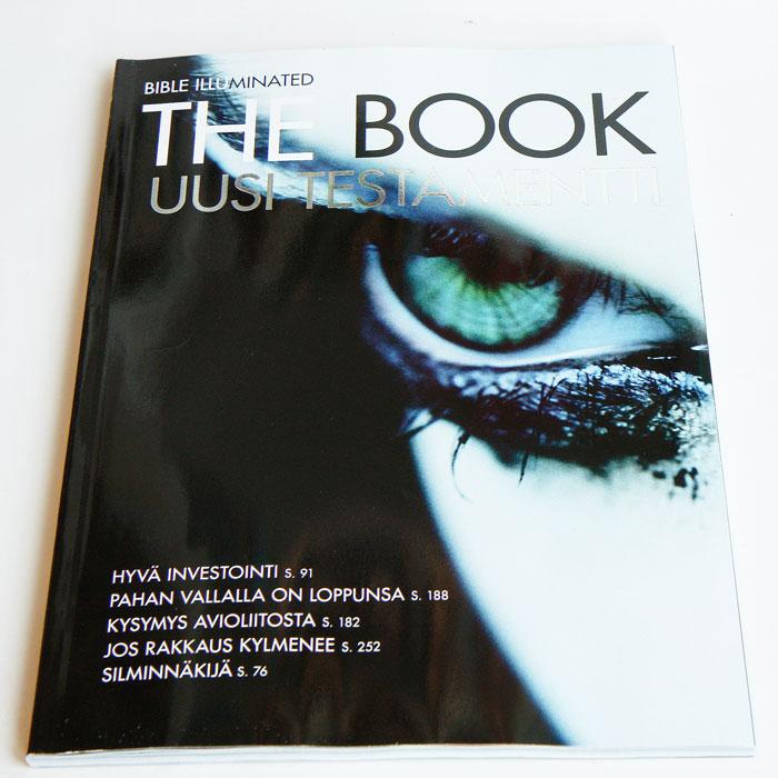 The Book + Suomalainen Ääniraamattu UT Mp3